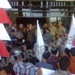 Dinilai Gombal, Bupati Syafii Di Demo Mahasiswa