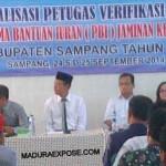 Dinsosnaker Sampang Gembleng 334 Petugas PBI JKN