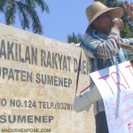 HariTani Nasional, Mahasiswa Kecam Disperta Sumenep