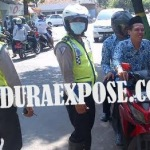 Pos polisi Terminal Arya Wiraraja digusur