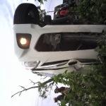 Dua Mobil Avanza Tabrakan Dekat Tol Suramadu