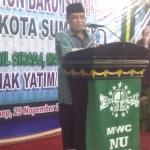 Ketua Umum PB NU , Prof.Dr Said Aqil Siraj saat ceramah tahun baru Islam 1436 H di Pendopo Agung Sumenep,Sabtu (29/11/2014) malam. Foto: Ferry Arbania/MaduraExpose.com