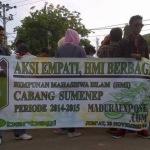 Aksi Empati, HMI Berbagi sembako gratis (Dok/MaduraExpose.com)