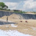 Proyek TPA Desa Torbang,Kecamatan Batuan Sumenep terindikasi banyak penyimpangan (Dok/MaduraExpose.com)
