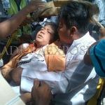 Siswa jadi korban sekolah ambruk di SMPN ! Sampang (MaduraExpose.com)