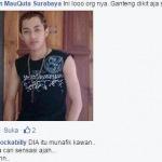 Eeng Taresna si pemilik status yang mengatakan Islam penuh kebohongan (Foto:Screen shoot facebook/MaduraExpose.com)