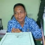 Badrut Tammam Kasi Pembiyayaan Disdik Sampang (Dok/MaduraExpose.com)