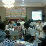 Bupati Sumenep rapat di hotel barengan pengusaha dan sejumlah pejabat dinas di lingkungan Pemkab setempat (Man/MaduraExpose.com)