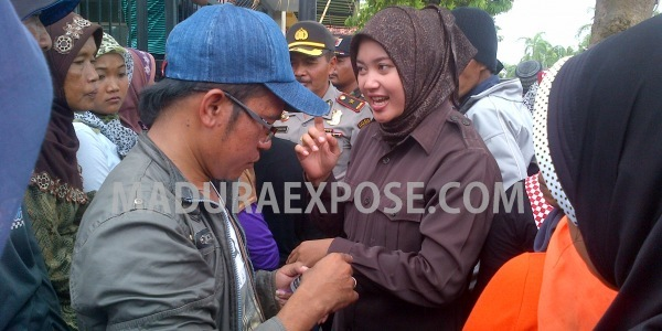 Aksi unjuk rasa Raskin  Guluk-Guluk Jilid I di depan Gedung DPRD Sumenep (Dok/MaduraExpose.com)