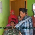 Hellali, warga Desa Romben Barat, Kecamatan Dungkek, diduga menjadi korban pemukulan anggota Polres Sumenep (Foto:Chalik/MaduraExpose.com)