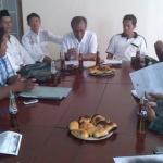 Kadiskes dr Firman saat audensi dengan Himapesa (Dok/MaduraExpose.com)