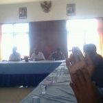 Warga Pinggir Papas saat audiensi ke kantor DPRD Sumenep (Dok/MaduraExpose.com)
