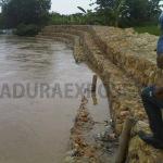 Warga Resah, Plengsengan Kali Kemuning Tergerus Banjir