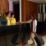 Resepsionis Hotel Grand Inna, Kuta Bali (Dok/Admin/GrandInna)