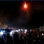 Pesta kembang api di Taman Adipura Sumenep  dimalam pergatian tahun (Adj/MaduraExpose.com)