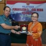 Wakapuspen TNI tutup Pelatihan Pemanfaatan  Sosmed
