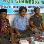 Dari kiri: Sarkawi, Ketua LSM Gerindo Sumenep bersama sejumlah pemerhati lintas sektor (Dok/MaduraExpose.com)