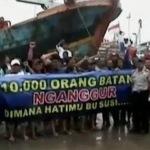 Datangi Istana, Ribuan Nelayan Tuntut Jokowi Pecat Menteri Susi