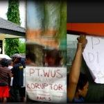 Jelang Pilkada, Kantor PT WUS diguncang Aksi Mahasiswa