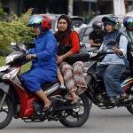 Boncengan Pakai Rok, Wanita Beranak Dua Dijemput Maut