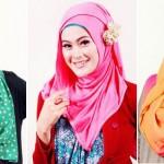 Tren Model Hijab Wanita Indonesia 2015