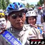 Satlantas Polres Sumenep Ajak Tukang Becak Tertib Lalin