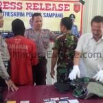 Polres Sampang Bekuk TNI Gadungan