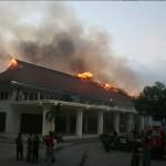 Rumah Warga Juluk Mendadak Terbakar