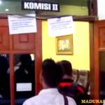 Kecewa Pimpinan DPRD, Komisi II Mogok Kerja