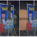 Relawan Zainal Abidin Mulai Tebar Banner Cabup-Cawabup