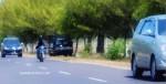 Bus Kalisari Nabrak Pohon Asam di Sumenep