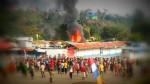 Masjid dibakar Kaum Salibis, AaGym: Inilah Teroris Sebenarnya!!
