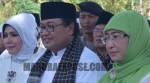 Zainal Abidin-Dewi Khalifah Resmi Daftar ke KPU