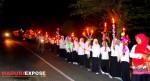 Pawai Obor di perayaan Maulid dan Haflah
