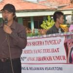 Dinilai Tak Becus Tangani Kasus Toni, Polres Sumenep di Demo