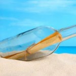 Botol Ini 108 Tahun Mengambang di Lautan Lepas