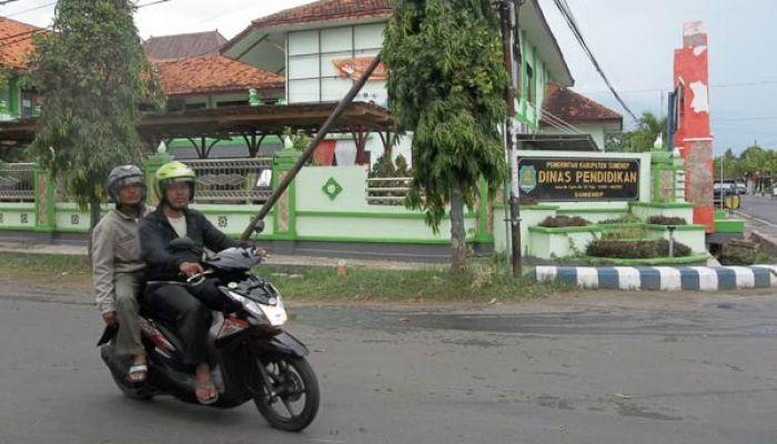Kantor Dinas Pendidikan Kabupaten sumenep, Madura, Jawa Timur/Istimewa