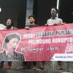 Ahok Belum Ditangkap, FP MK Demo KPK