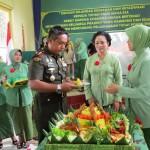 HUT Persit KCK Cabang XLVI Kodim 0827 Sumenep