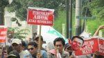 Ribuan massa Kepung KPK, DPRD Janji Gunakan HMPnya