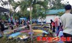 Taman Kece Kebun Agung Sumenep banjir Pengunjung