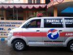 Ambulance Perindo Sumenep Berikan Layanan Gratis
