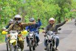 Serunya Touring Moge & Trail Bareng Kodim Sumenep