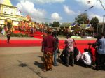 Prosesi Arya Wiraraja, Wartawan Sumenep Dilarang Mengambil Foto Mensos