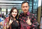 Ade Fitrie Kepincut Ketampanan Agus Yudhoyono