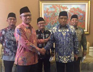 Dahnil Anzar Simanjuntak Wakil NU dan Muhammadiyah yang diundang ke Istana Negara oleh Presiden Joko Widodo/Istimewa.