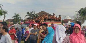 Ratusan Siswa diliburkan demi konser musik di Lap. Gor A.Yani Sumenep/Istimewa.