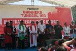 Jumlah Massa Parade Bhineka Tunggal Ika Tak Lebih 5000 Orang