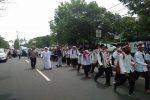 Peserta Aksi 212 Mulai Bergerak, Jalan Kaki ke Jakarta