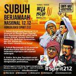 Besok!!! GNPF-MUI Salat Subuh Berjamaah Nasional #Konsolidasi Spirit 212